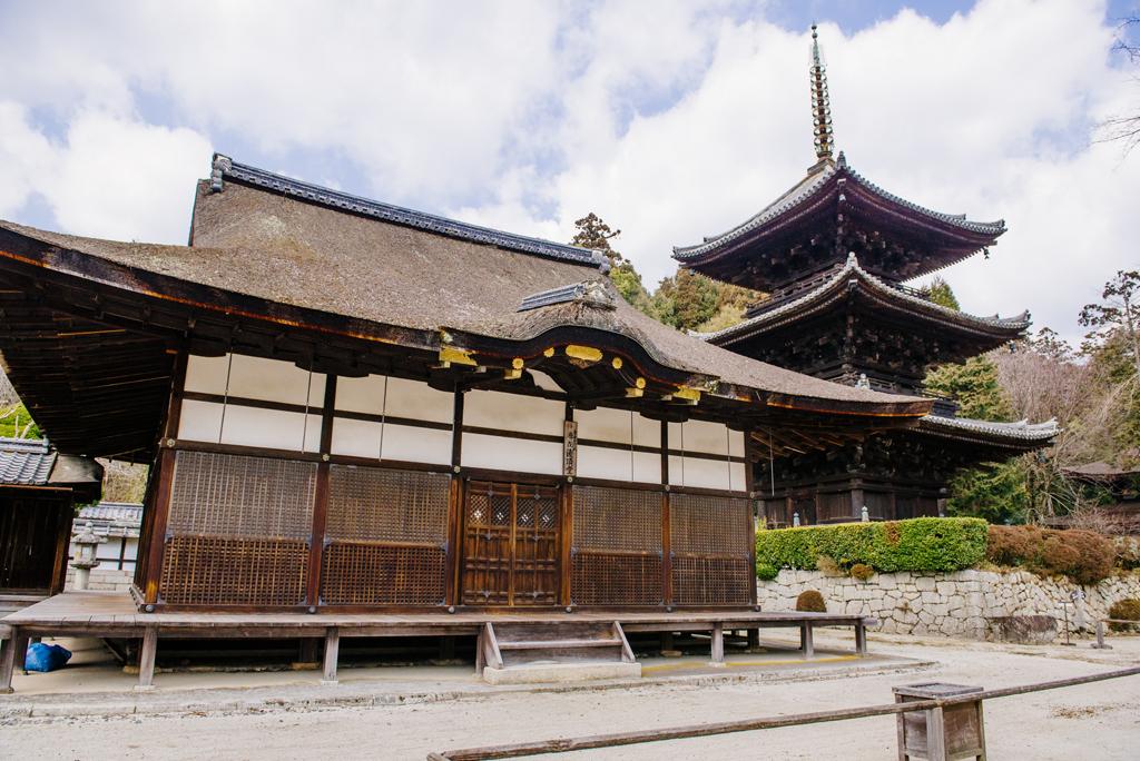 Hall de Tō-in Kanjō-dō du temple de Onjōji