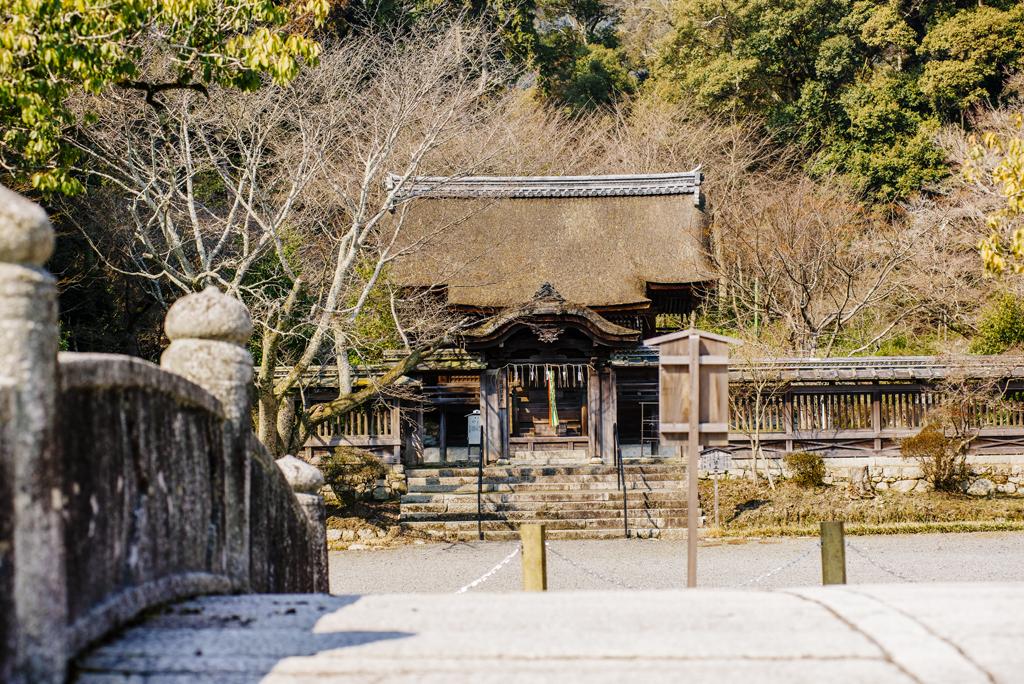 園城寺護法善神堂(千團子社)